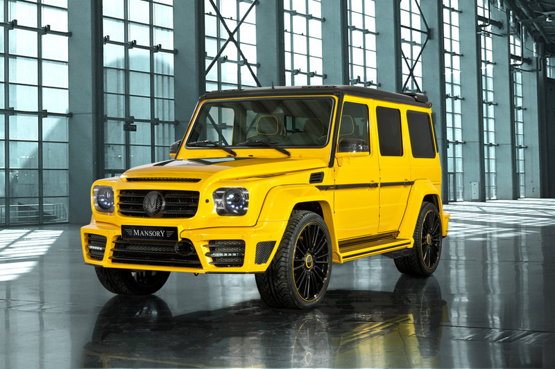 2013 Mercedes G65 AMG Gronos by Mansory High Resolution Exterior - image 495370
