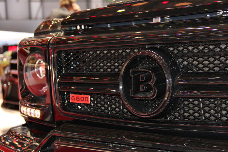 2013 Mercedes G65 AMG G800 by Brabus Emblems and Logo Exterior AutoShow - image 497500