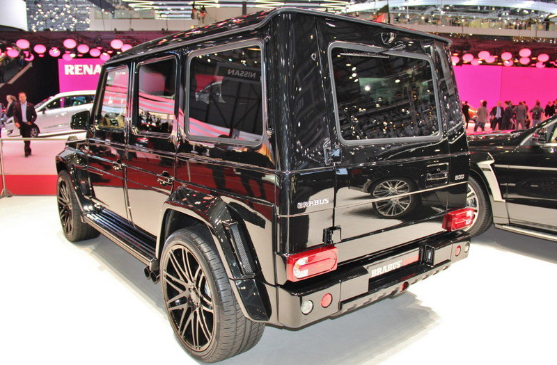 2013 Mercedes G65 AMG G800 by Brabus Exterior AutoShow - image 497494