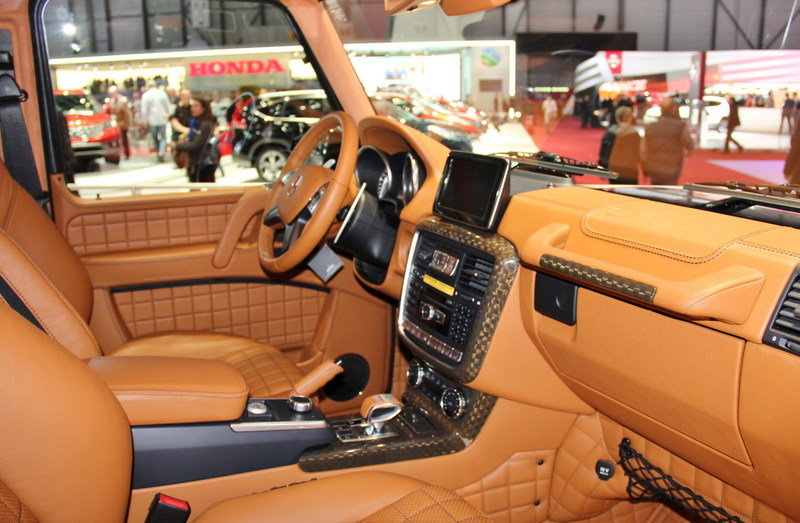 2013 Mercedes G65 AMG G800 by Brabus Interior AutoShow - image 497495