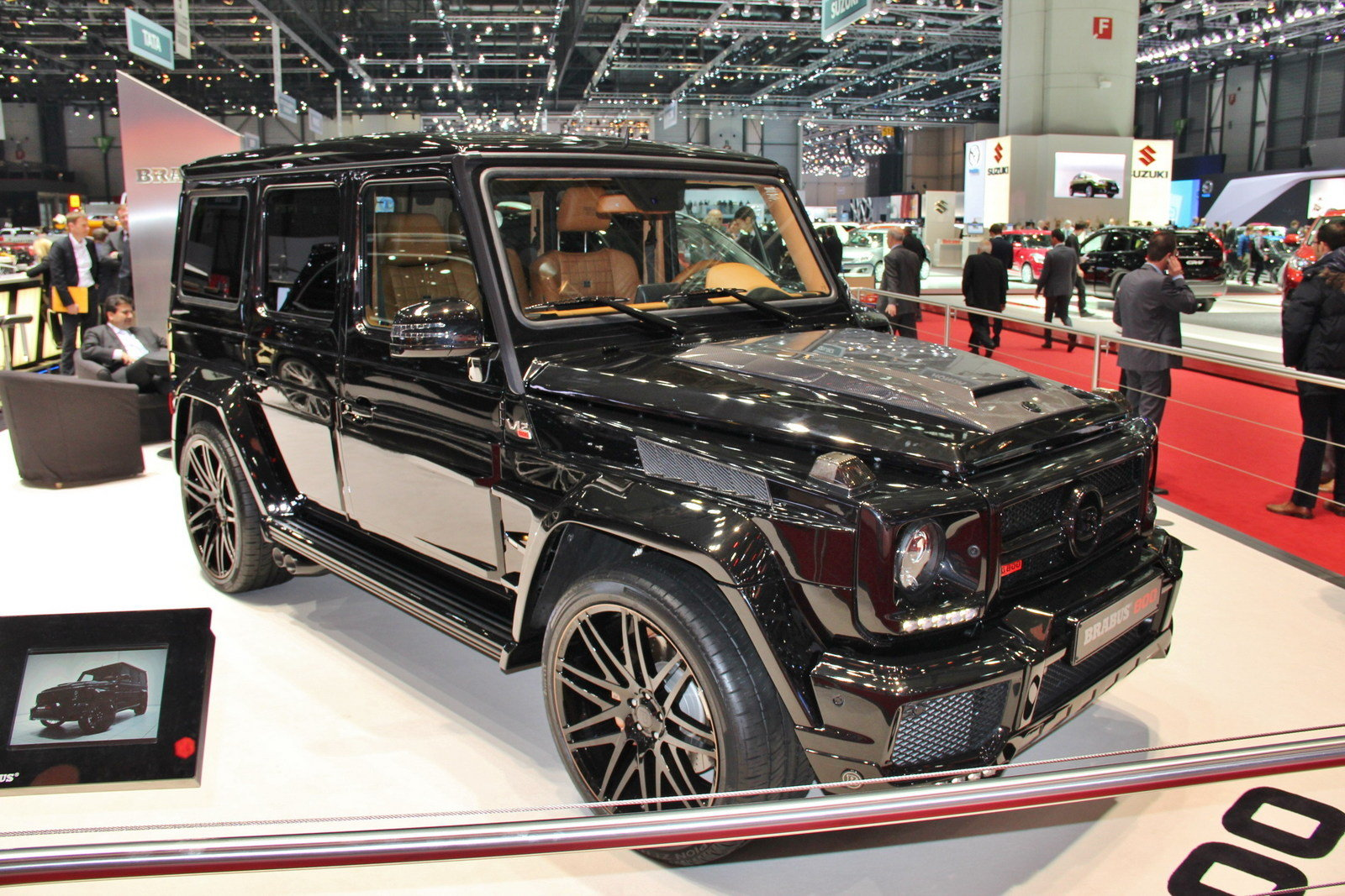 2013 mercedes g65 amg g800 by brabus top speed. Black Bedroom Furniture Sets. Home Design Ideas