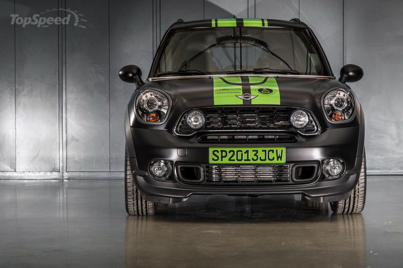 2013 Mini John Cooper Works Countryman ALL4 Dakar Winner