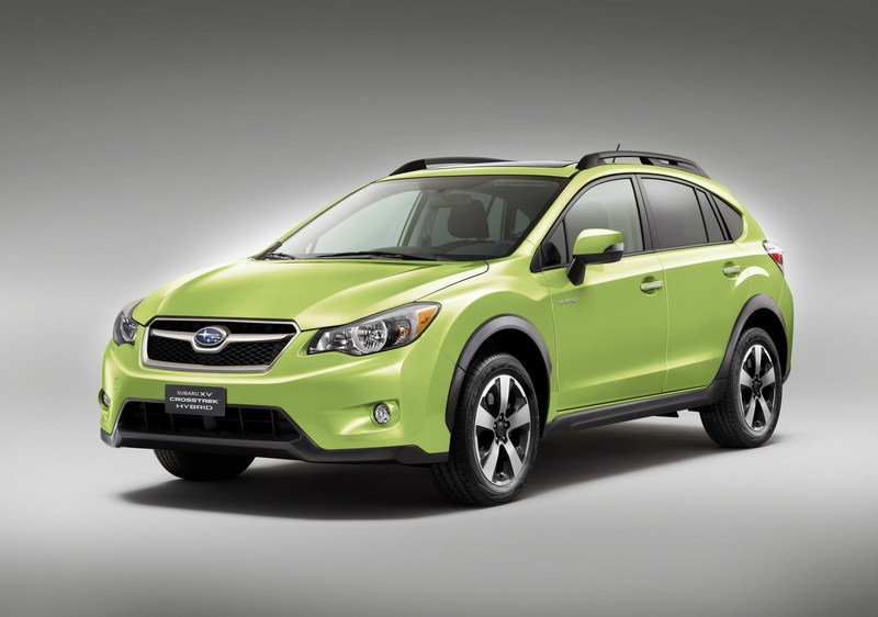 2014 Subaru XV Crosstrek Hybrid High Resolution Exterior Wallpaper quality - image 498557