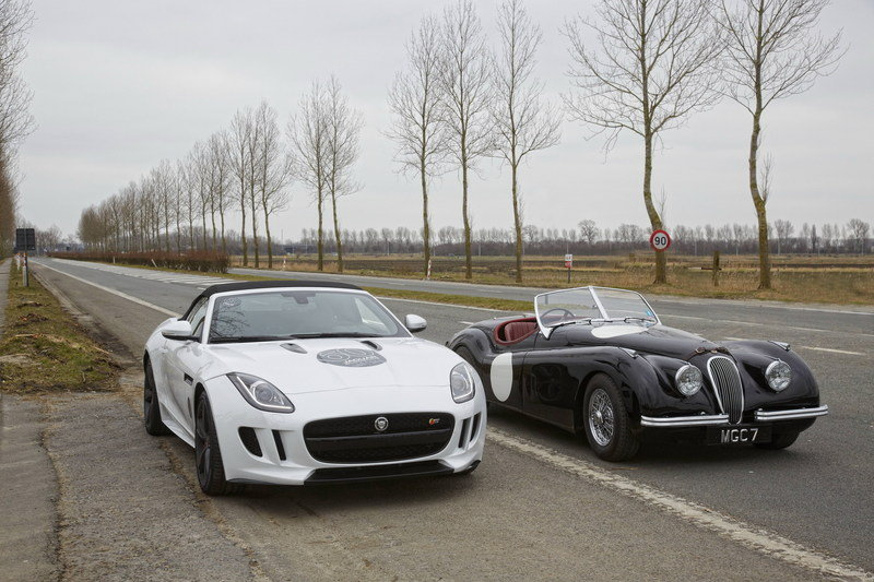 Jaguar F-Type V8 S Recreates C-Type World Record
