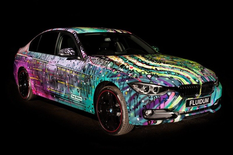 "2013 BMW 3-Series ""Fluidum"" Art Car by Andy Reiben High Resolution Exterior - image 500831"