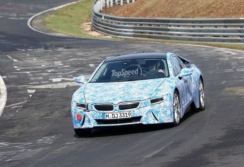 Spy Shots: The BMW i8 Hits Nürburgring for the First Time