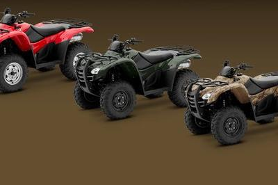 2013 Honda FourTrax Rancher AT Exterior - image 503629