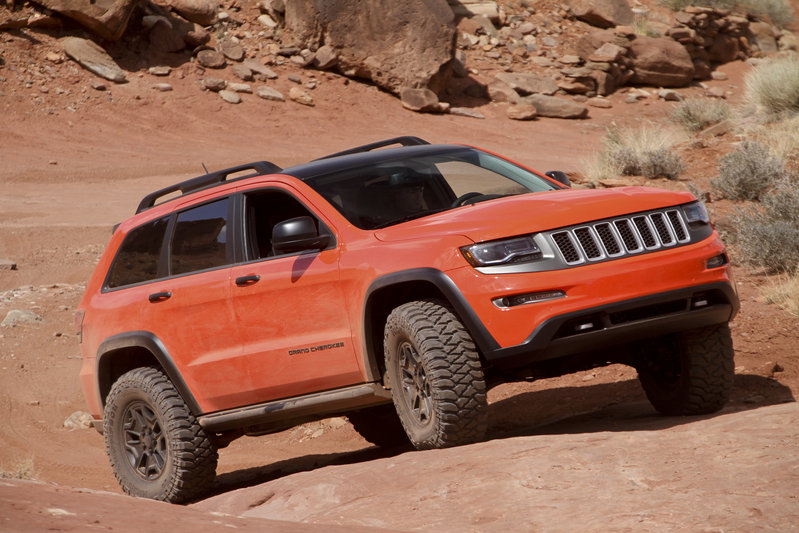 2013 jeep grand cherokee trailhawk ii concept review top speed. Black Bedroom Furniture Sets. Home Design Ideas