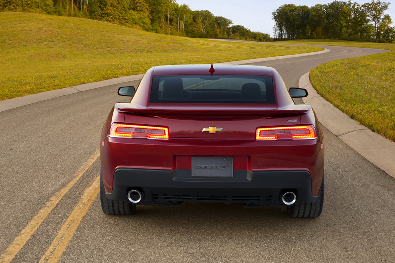 2014 - 2015 Chevrolet Camaro SS High Resolution Exterior - image 500437
