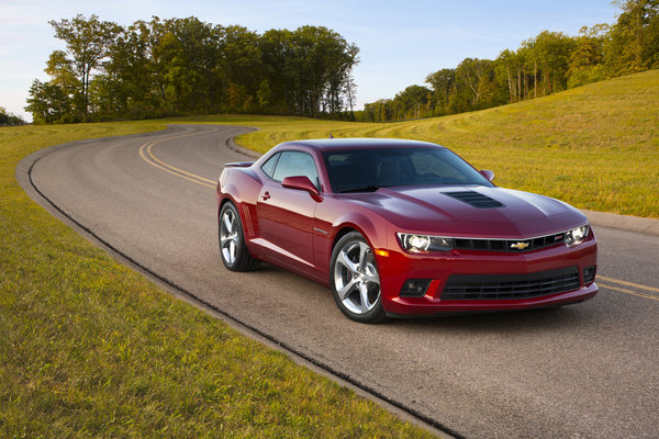 2014 Chevrolet Camaro RS | car review @ Top Speed