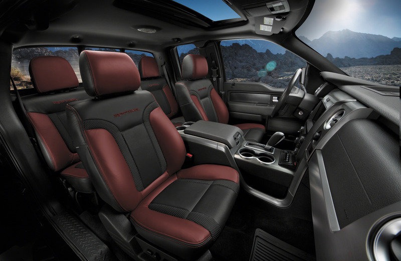 2014 Ford F-150 SVT Raptor Special Edition Interior - image 501736