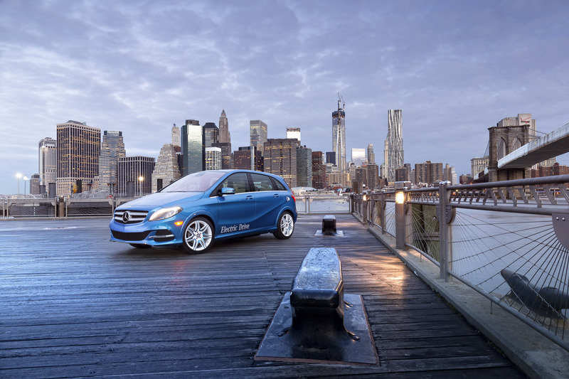 2014 Mercedes-Benz B-Class Electric Drive High Resolution Exterior - image 501692