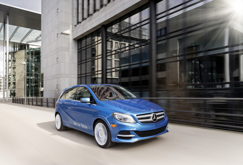 2014 Mercedes-Benz B-Class Electric Drive High Resolution Exterior - image 501677