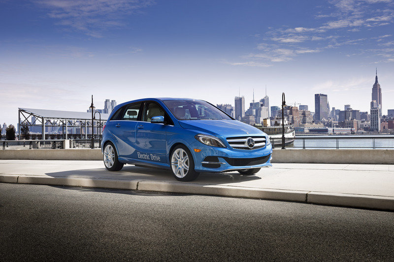 2014 Mercedes-Benz B-Class Electric Drive High Resolution Exterior - image 501696