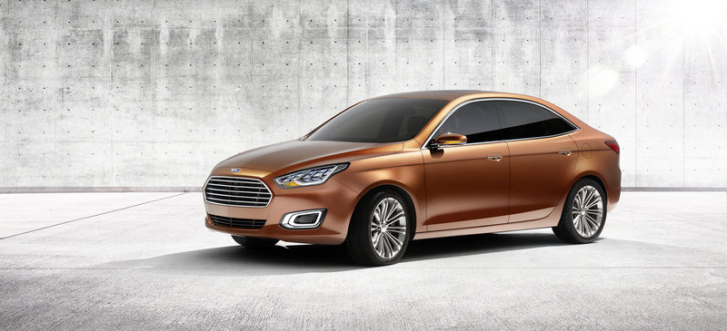 2013 Ford Escort Concept High Resolution Exterior - image 503066