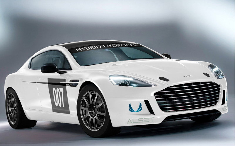 2013 Aston Martin Hybrid Hydrogen Rapide S High Resolution Exterior Wallpaper quality - image 502021