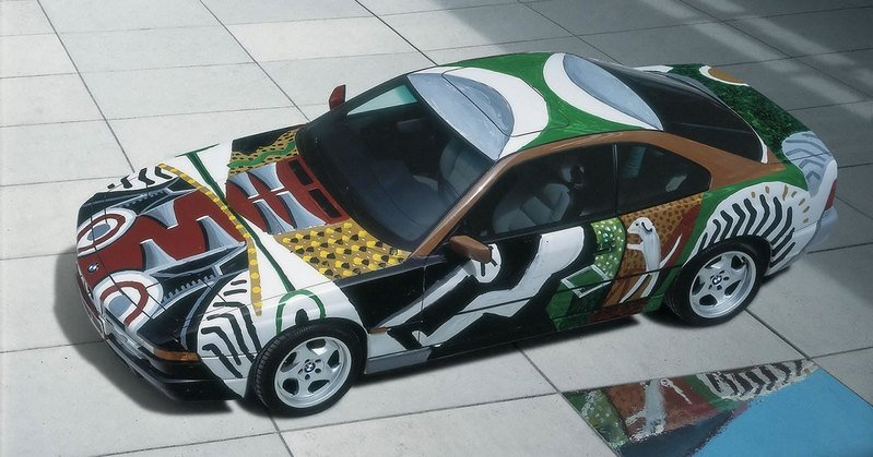 BMW Art Car Roundup Exterior - image 503282