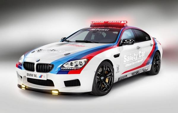 bmw m6 gran coupe motogp safety car picture