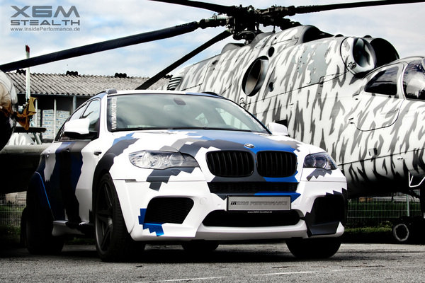 bmw x6m stealth by inside performance picture