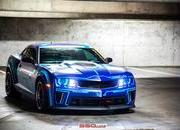 "Chevrolet ""Tron"" Camaro by SS Customs"