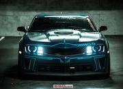 "2013 Chevrolet ""Tron"" Camaro by SS Customs - image 500611"