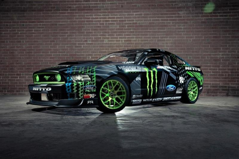 2014 Ford Mustang RTR Monster Energy Nitto Tire by Vaughn Gittin Exterior - image 500924