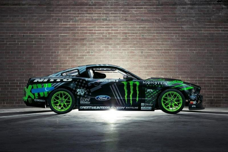 2014 Ford Mustang RTR Monster Energy Nitto Tire by Vaughn Gittin