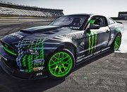 Ford Mustang RTR Monster Energy Nitto Tire by Vaughn Gittin