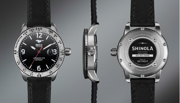 ford mustang shinola watch picture