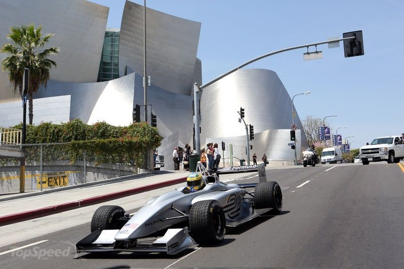 Formula E Kicks Off in Los Angeles in 2014 Exterior - image 503248