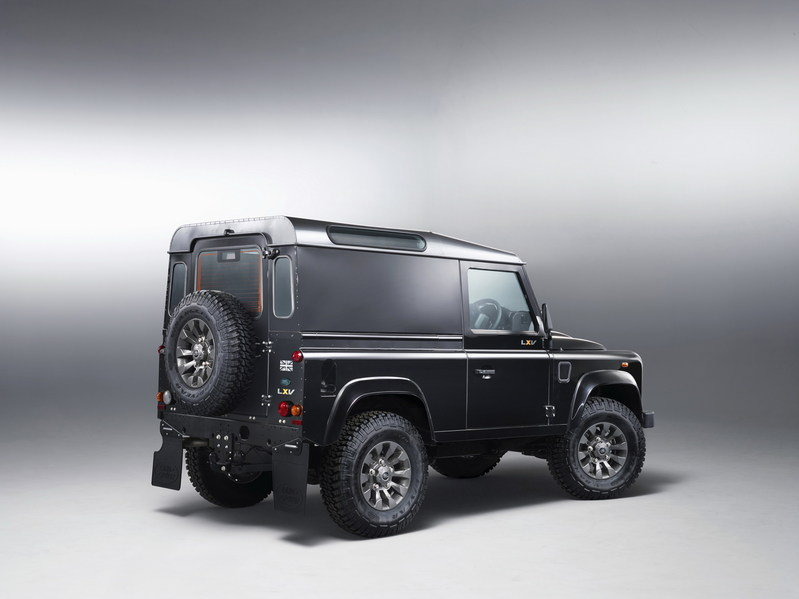 2013 Land Rover Defender LXV Special Edition High Resolution Exterior - image 503957