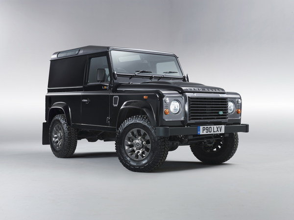 land rover defender lxv special edition picture
