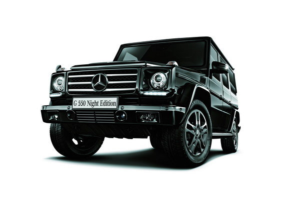 mercedes-benz g550 night edition picture