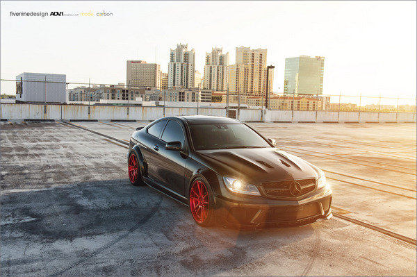 mercedes c63 amg black series by adv1 picture