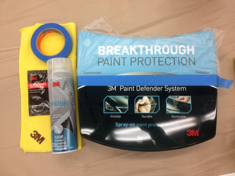 New Product Review: 3M Paint Defender - Clear Spray-On Film