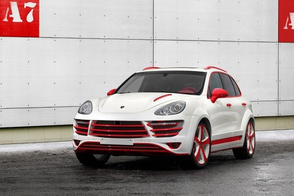 porsche cayenne vantage 2 red dragon by topcar picture