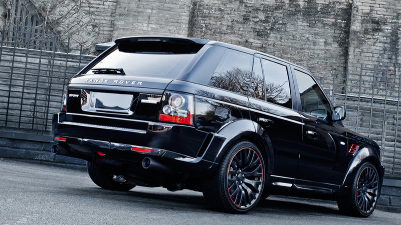 2013 Range Rover Santoniri Black RS 600 Kahn Cosworth by Kahn Design High Resolution Exterior - image 503577