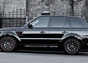Range Rover Santoniri Black RS 600 Kahn Cosworth by Kahn Design
