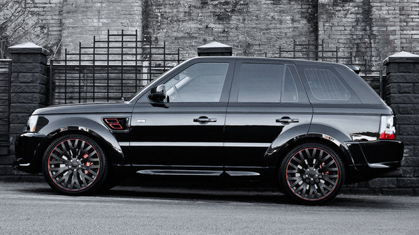 range rover santoniri black rs 600 kahn cosworth by kahn design picture