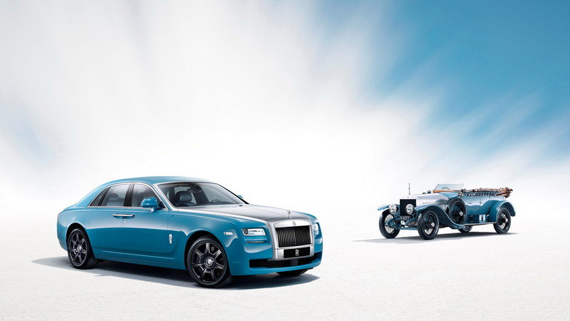 2013 Rolls Royce Ghost Alpine Trial Centenary Edition High Resolution Exterior Wallpaper quality - image 502619