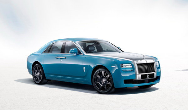 rolls royce ghost alpine trial centenary edition picture
