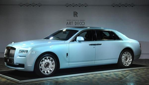rolls-royce ghost extended wheelbase art deco edition picture