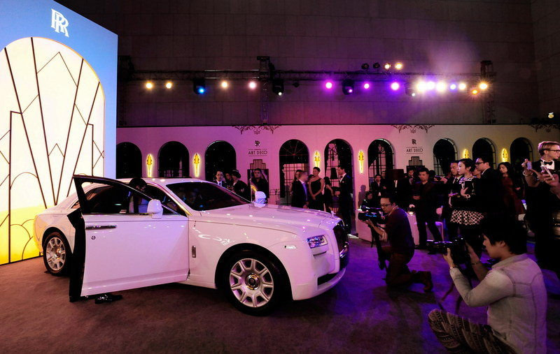 2013 Rolls-Royce Ghost Extended Wheelbase Art Deco Edition