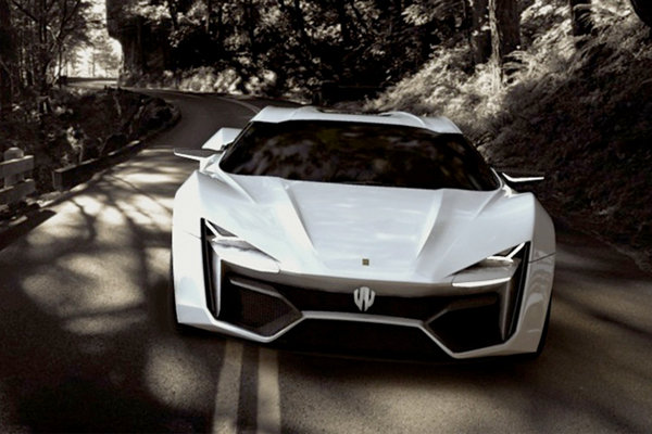 Cars W Motors Lykan Hypersport