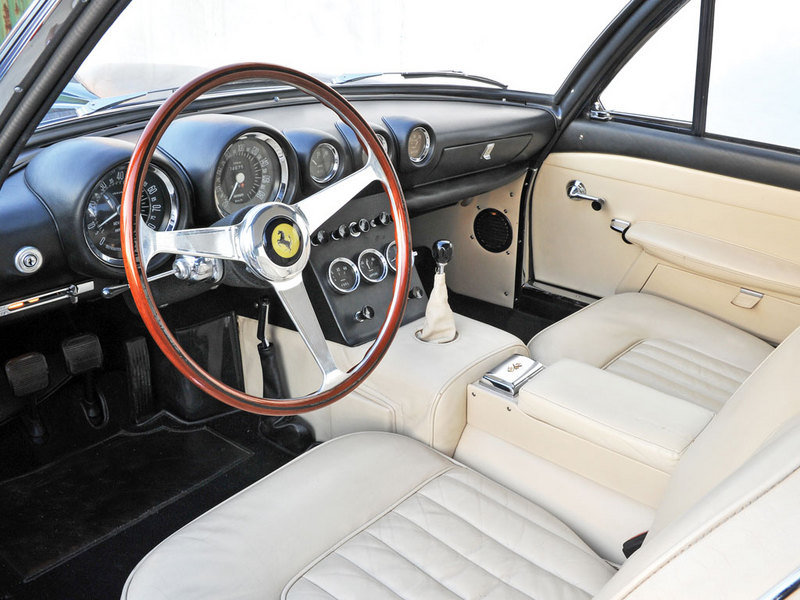 1962 Ferrari 400 Superamerica SWB Coupé Aerodinamico by Pininfarina High Resolution Interior - image 507318
