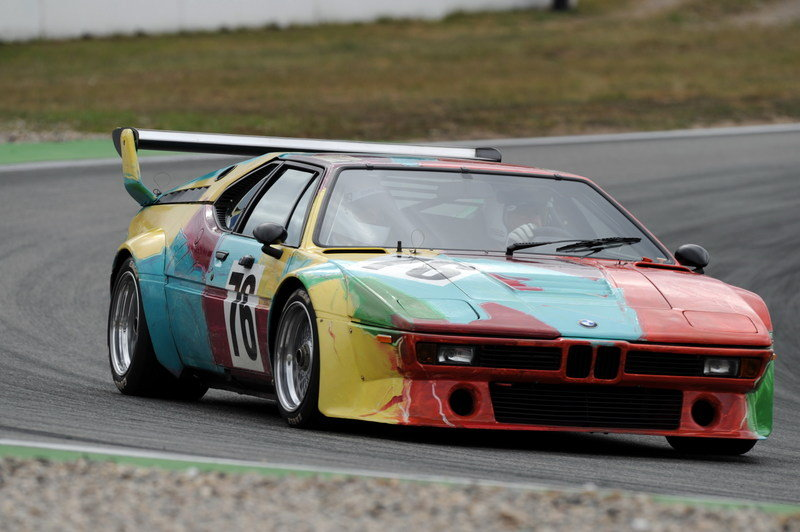 1979 BMW M1 Art Car will be Displayed at Saratoga Automobile Museum
