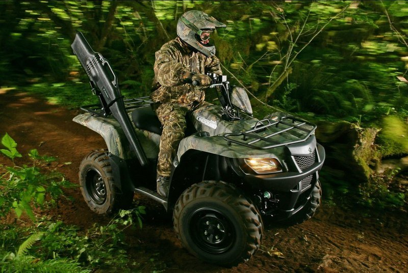 2011 Suzuki KingQuad 750AXi Camo High Resolution Exterior - image 507116