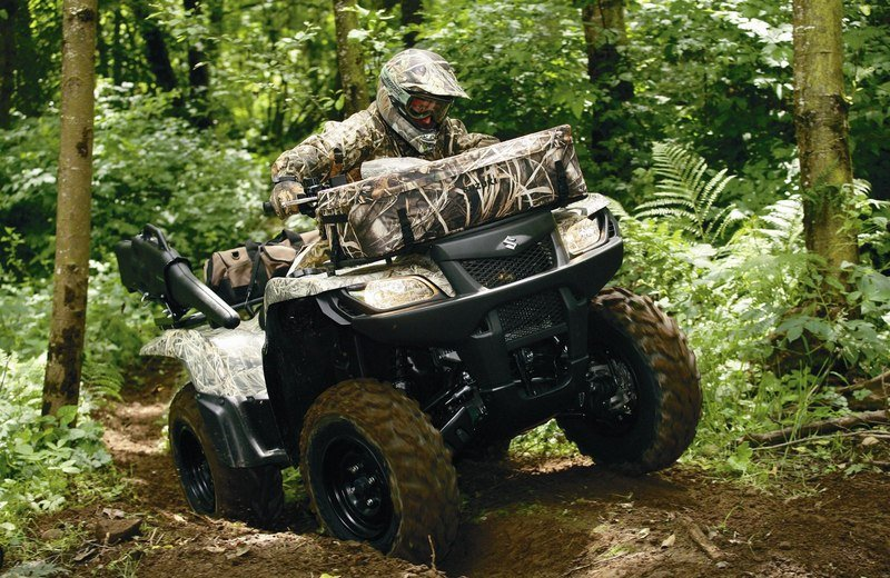 2011 Suzuki KingQuad 750AXi Camo High Resolution Exterior - image 507117