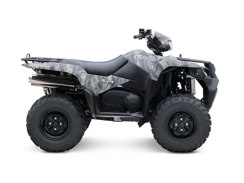 2011 Suzuki KingQuad 750AXi Camo High Resolution Exterior - image 507118