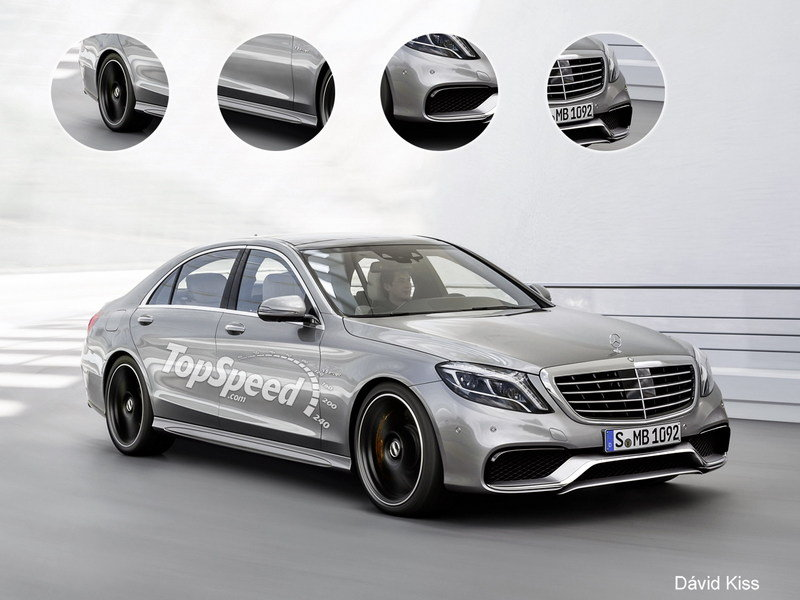 2014 Mercedes-Benz S63 AMG 4MATIC Exclusive Renderings - image 507086